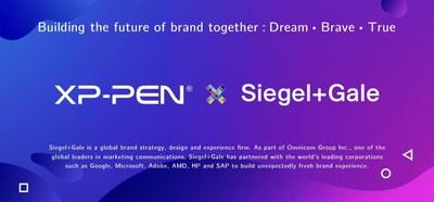 XP-PEN y la cooperación Siegel+Gale tienen como objetivo construir el futuro de la marca juntos (PRNewsfoto/XP-PEN)