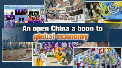 Una China abierta beneficia a la economía global (PRNewsfoto/CGTN)