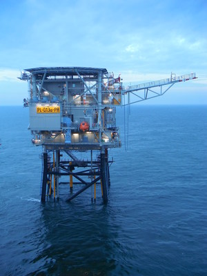 The Q13a-A platform from Neptune Energy